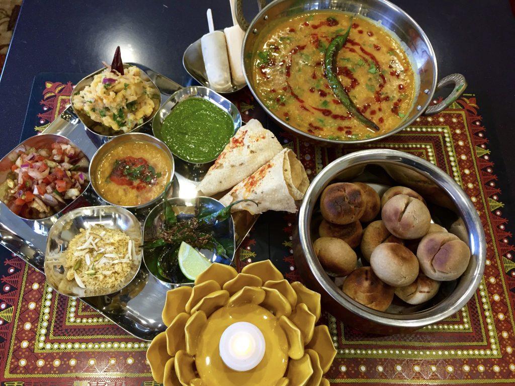 Vegetarian Rajasthani Food